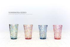 ガラス作家「吉村桂子」の和食器
