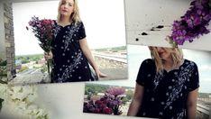 Black Bohemian Evening Dress/India by littleedenvintage on Etsy