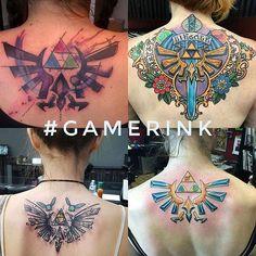 Send us your best gaming tattoo pics,  tag your tattoo artist!!! Please ensure that the photo is of good quality and that it is your tattoo  ✉ gamerinkok@gmail.com  #tattoo #tattoos #tatuajes #ink #videogametattoo #gamertattoo #gamerink #videogames #gamer #gaming #nintendo #sega #playstation #xbox #pokemon #zelda #supermariobros #finalfantasy #metalgear #tombraider #residentevil #silenthill #fallout #skyrim #gtav #halo #godofwar #darksouls #dragonball