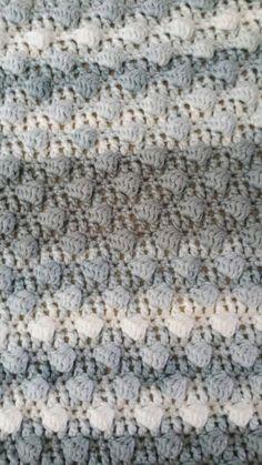 Superzachte baby-deken haken..! - draad en praat... Love Crochet, Learn To Crochet, Crochet For Kids, Diy Crochet, Crochet Hooks, Baby Blanket Crochet, Crochet Baby, Crochet Blankets, Baby Blankets