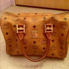 Authentic Mcm Handbag