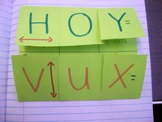 Foldables Templates | HOY VUX Foldable for Graphing Vertical and Horizontal Lines