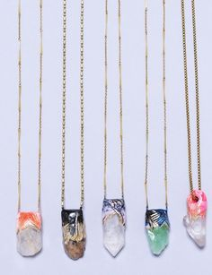 mineral necklace