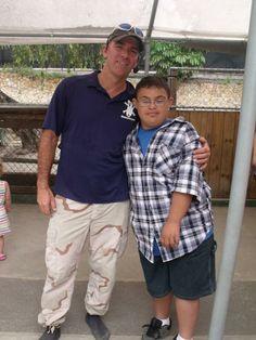 Jeremia with Paul #Meetandgreet #GatorBoys