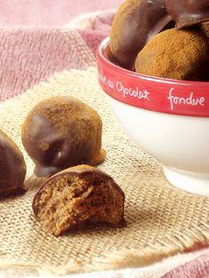 Peanut Butter Gingersnap Truffles