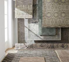 Barret Printed Wool Rug | Pottery Barn AU