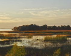 Autumn photography nature landscape evening by GinetteBrosseau