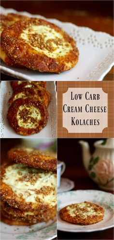 Low carb cream cheese kolaches have just 2.8 net carbs and they are gluten free…