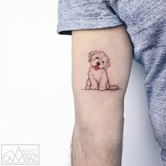 47 Mini Cute Animal Tattoos Ideas To Try In 2019 Summer - get some inspirations. - 47 Mini Cute Animal Tattoos Ideas To Try In 2019 Summer – get some inspirations from these mini - Mini Tattoos, Jj Tattoos, One Word Tattoos, Tribal Tattoos, Geometric Tattoos, Tatoos, Tattoos Of Dogs, Tattoos For Dog Lovers, Cross Tattoos