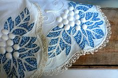 Vintage Embroidered dresser cloth