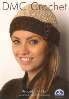 DMC Petra Pattern - Beaded Trim Hat Thank you for looking at our items Please remember we can supply anything for all your crafting needs at the very