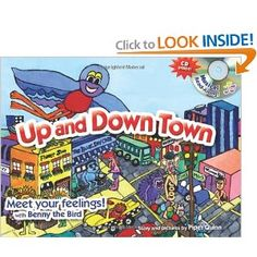 Up and Down Town book and CD - good resource for kids on the autism spectrum
