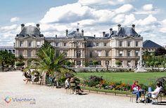Jardin de Luxembourg1 Parques e JardinsdeParis #Viajoteca