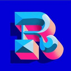 WEBSTA @bftype — Gorgeous R by @racheljoylettering