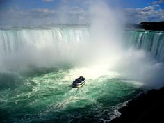 """How can anyone visiting Western NY for the first time not include a trip to Niagara Falls and riding on """"The Maid of the Mist"""" as part of their itinerary?"""