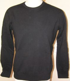 8d63bd3b7bc Reigning Champ Mid Weight Sweatshirt Twill Terry Black W  J Crew S M  amp   XL