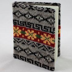 Fair Isle notebook - Bright (large)