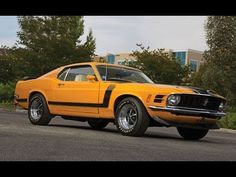 1970 Ford Mustang Boss 302   21,915 Original Miles at Auction August 2013
