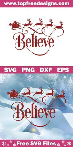 Free Believe Svg File - Cricut T Shirts - Ideas of Cricut T Shirts - Free Believe Svg File for Cricut Silhouette Cameo Cricut Christmas Ideas, Merry Christmas, Christmas Vinyl Crafts, Christmas Decals, Christmas Shirts, Diy Christmas, Christmas Ornaments, Believe, Diy Halloween