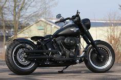 Fatboy Shovelhead | Customized #Harley-Davidson Fat Boy by #Thunderbike