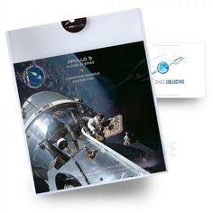 Apollo 9 Flown Kapton Foil - Flown in Space - NASA