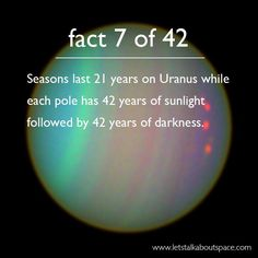 42 Facts About Space, A Homage to Douglas Adams. - Album on Imgur