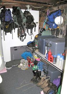 How to Store your Outdoor Gear