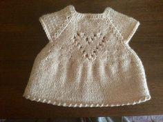 Вязаное платье для игрушки. Hand made .