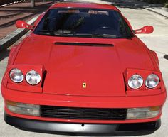 Auto Ferrari Testarossa 1986