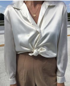 Revere Collar, Satin, Blazer, Chic, Blouse, Tops, Jackets, How To Wear, Shirts