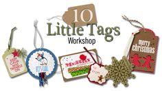 10 Little Tags workshop