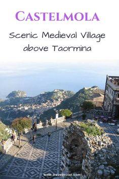 Castelmola, Scenic Medieval Village above Taormina | Travellector #Sicily #Castelmola #Taormina #travel #traveltips