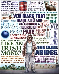 The Big Lebowski by Chet Phillips