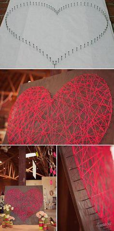 Pinned onto Valentínske nápadyBoard in Kreatívne návody Category