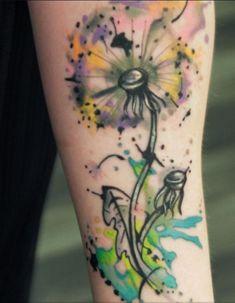 14 Medium-Size Watercolor Tattoo Designs – Top Famous Pretty Fashion Style - Easy Idea (11)