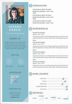Modern Resume Template, Cv Template, Cv Design, Resume Design, Layout Cv, It Cv, Teaching Chemistry, Looking For A Job, Study Inspiration