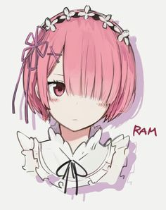Ram (Re:Zero) - Re:Zero Kara Hajimeru Isekai Seikatsu - Image - Zerochan Anime Image Board Chibi Anime, Anime W, Anime Maid, Moe Anime, Chica Anime Manga, Fanarts Anime, Kawaii Anime Girl, Anime Characters, Re Zero Wallpaper