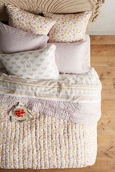 Kerry Cassill Lilacia Quilt #anthropologie