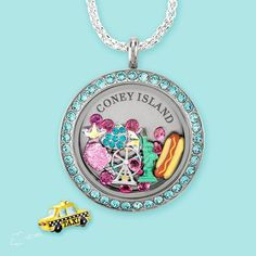 Fair/Amusement park inspired Lockets. Some charms are limited edition. Hootencharms.origamiowl.com
