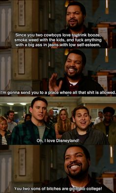 'I love Disneyland!' Oh Channing Tatum. ;)