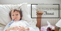 Did you know that school-age kids get around 8-12 colds a year, and they can last anywhere from six days to two weeks?! Now, that's pretty crummy, if you ask me. A lot of times our kids have sore throats on those sick days. Whether it be from a cold or a flu, a sore …