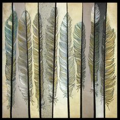Feathers by Nancy Messier