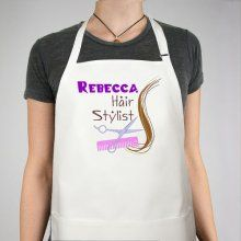 Personalized Hair Stylist Aprons