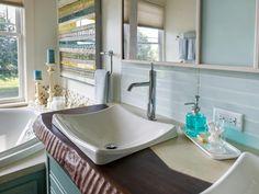 Master Bathroom Pictures From Blog Cabin 2014 | DIY Network Blog Cabin 2014 | DIY
