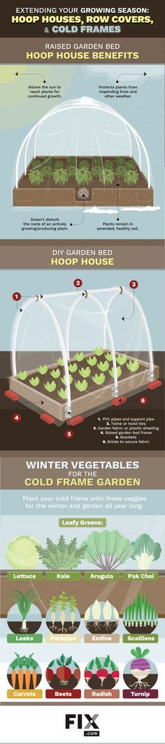 Extend Your Gardening season: Hoop Houses, Row Covers, Cold Frames