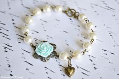 Flower Girl Gift Bridesmaids Pearl Bracelet Childrens Jewelry Flower Girl Gift Wedding Accessories on Etsy, $17.22