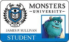 james p sullivan | sully james p sullivan monsters university id