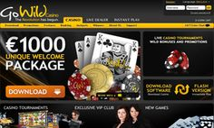 """It was clear from the text font on its logo that Go Wild Casino was going to be different from the other online casinos we reviewed before. The meaning of """"Go Wild"""" as well as the type of its text font were suggestive of originality and ..."""