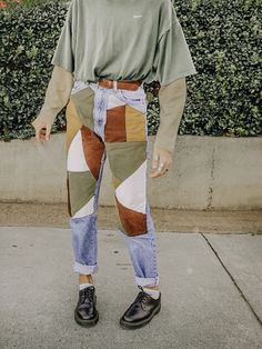 geometrische diy Jeans 150 geometrische diy Jeans The post geometrische diy Jeans 150 appeared first on Outfit Diy. Mode Outfits, Casual Outfits, Fashion Outfits, Womens Fashion, Fashion Clothes, 80s Style Outfits, Artsy Outfits, Summer Outfits, Jeans Fashion