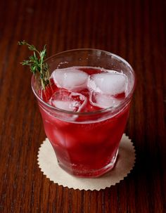 Blackberry, Lemon, & Thyme Soda